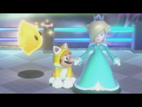 Super Mario 3D World - World Star (All Green Stars and Stamps)