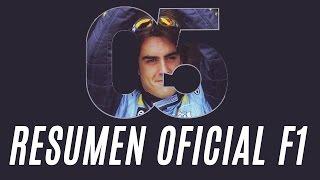 f1 2005 resumen oficial español