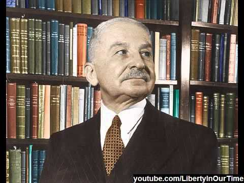 Ludwig von Mises giving an interesting lecture on Socialism versus Free Market Exchange 1970