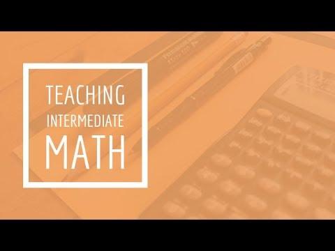 (22) Teaching Intermediate Math - Teaching Algebra | Fairhaven Baptist College