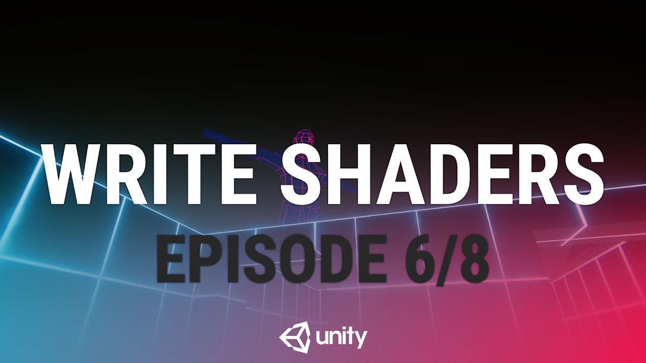 Writing Your First Shader In Unity - Making A Transparent Shader [6/8] Live  2017/6/21
