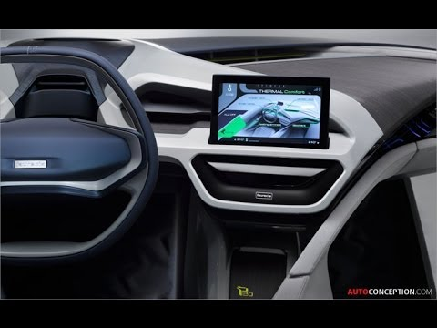 Car Interior Design  Faurecia  Performance 2 0  Concept   YouTube