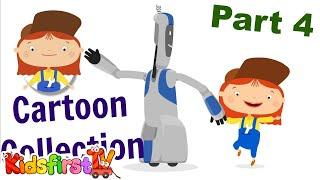 4 Doktor McWheelie Çizgi Film Koleksiyonu. Çocuk çizgi film.