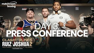 Andy Ruiz vs Anthony Joshua 2 Fight Week | Press Conference (Ep 3) Behind The Scenes