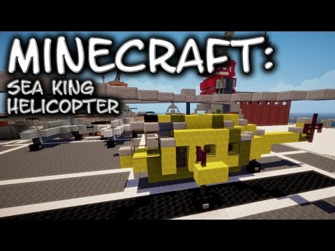 Minecraft: Helicopter Tutorial - Westland Sea King