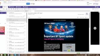 how to use bt mail the basics