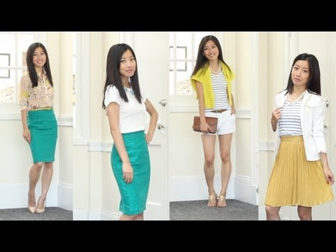 summer fashion favorites for work  casual jewel tone