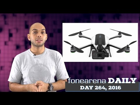 GoPro Karma drone announced, Google Pixel phones coming on Oct 4 - FoneArena Daily