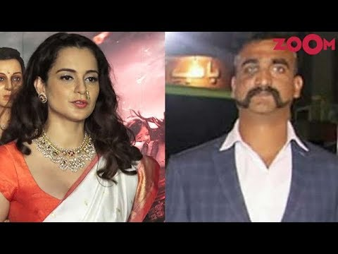Kangana Ranaut on IAF Pilot Abhinandan and Tension between India and Pakistan