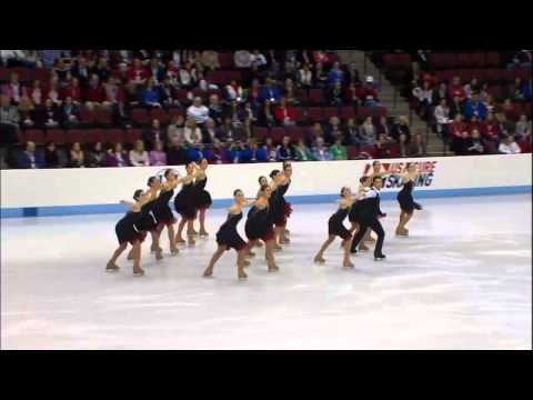 Mexico Team.-ISU World Synchronized Skating Championships 2013.Full HD 1280x720
