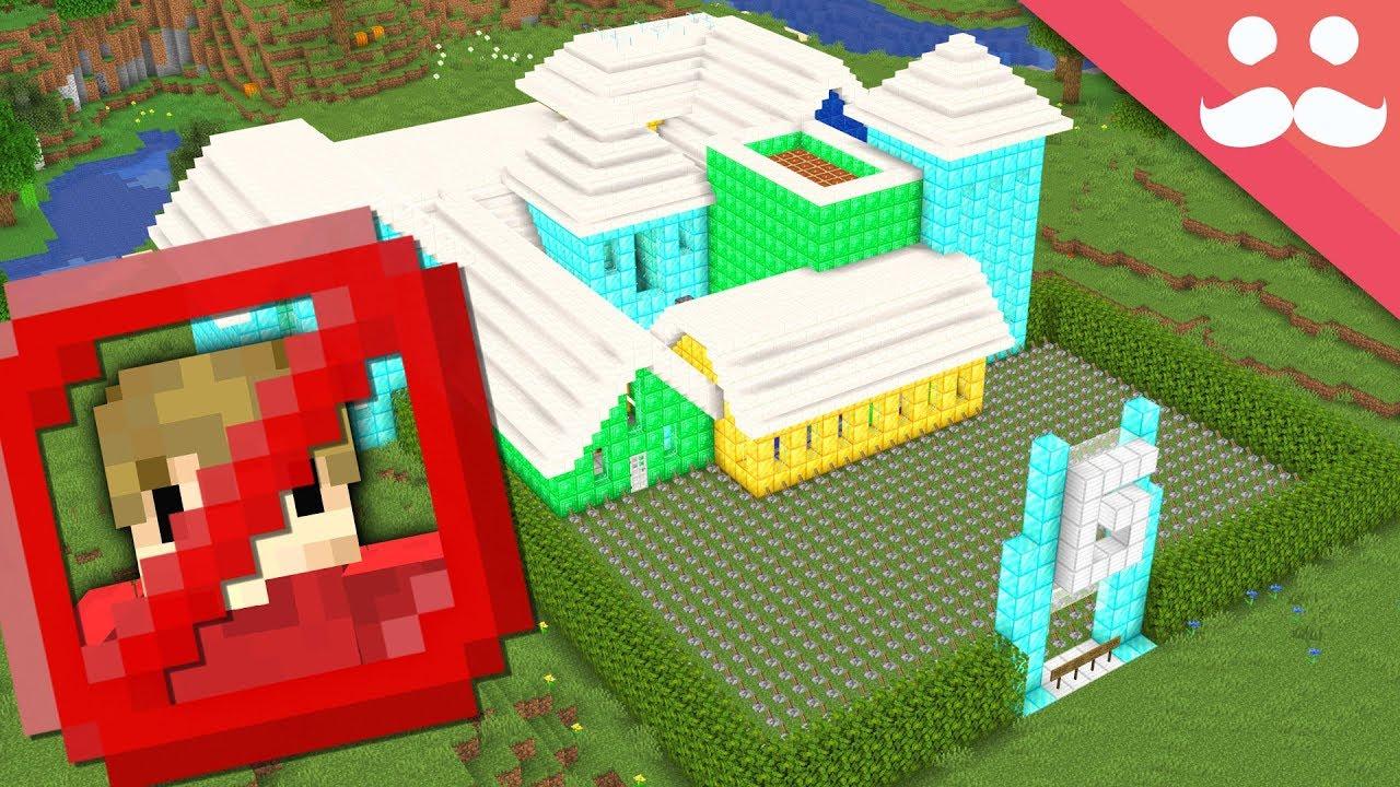 Ich habe ein Grian Proof House in Minecraft gebaut + video