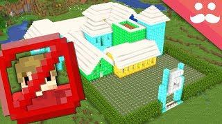Ich machte eine Grian Beweis Haus in Minecraft