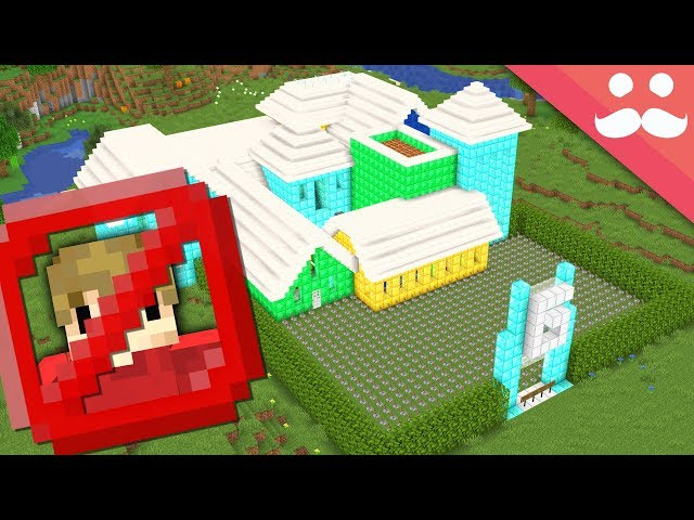 I made a Grian Proof House in Minecraft