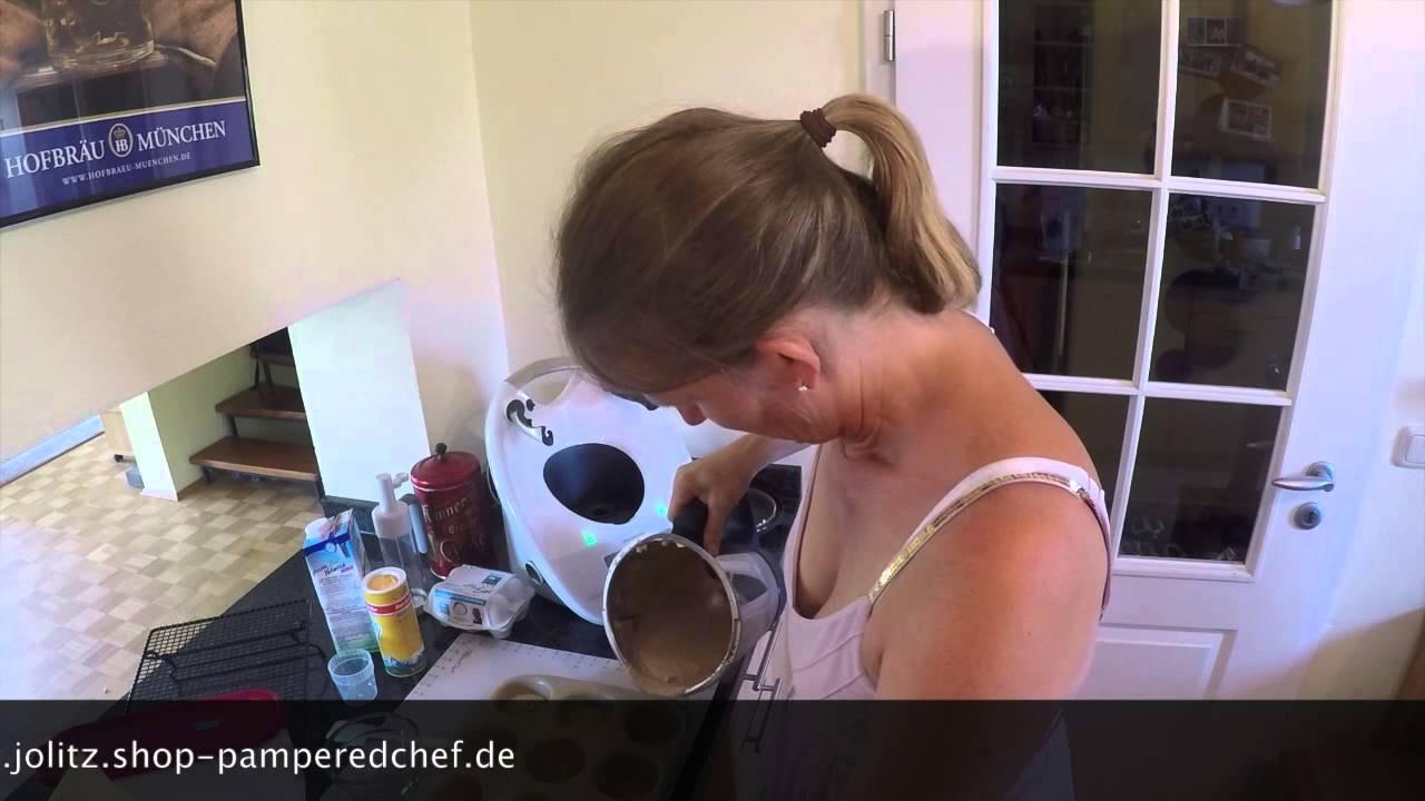 Schoko Kasekuchen Muffins Mit Dem Thermomix Tm 5 Youtube