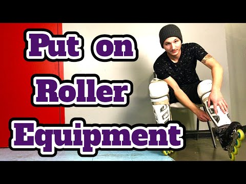 How To Put On Roller Hockey Equipment