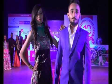 Aim Academy Fashion Show 2016 At Tata Hall Navsari (Party Wear Round )