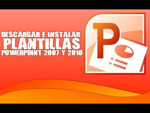 Tutorial PC - Descargar e Instalar plantillas PowerPoint 2007 y 2010