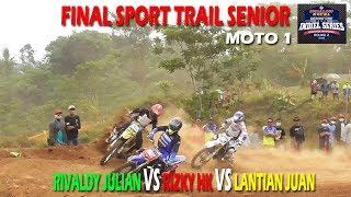 Sport Trail Senior Moto 1 Kejurnas & Indiel Seri 2 Sirkuit Wanko Mijen Semarang