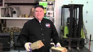 A Csia Video: What Seasoned Firewood Should Sound Like