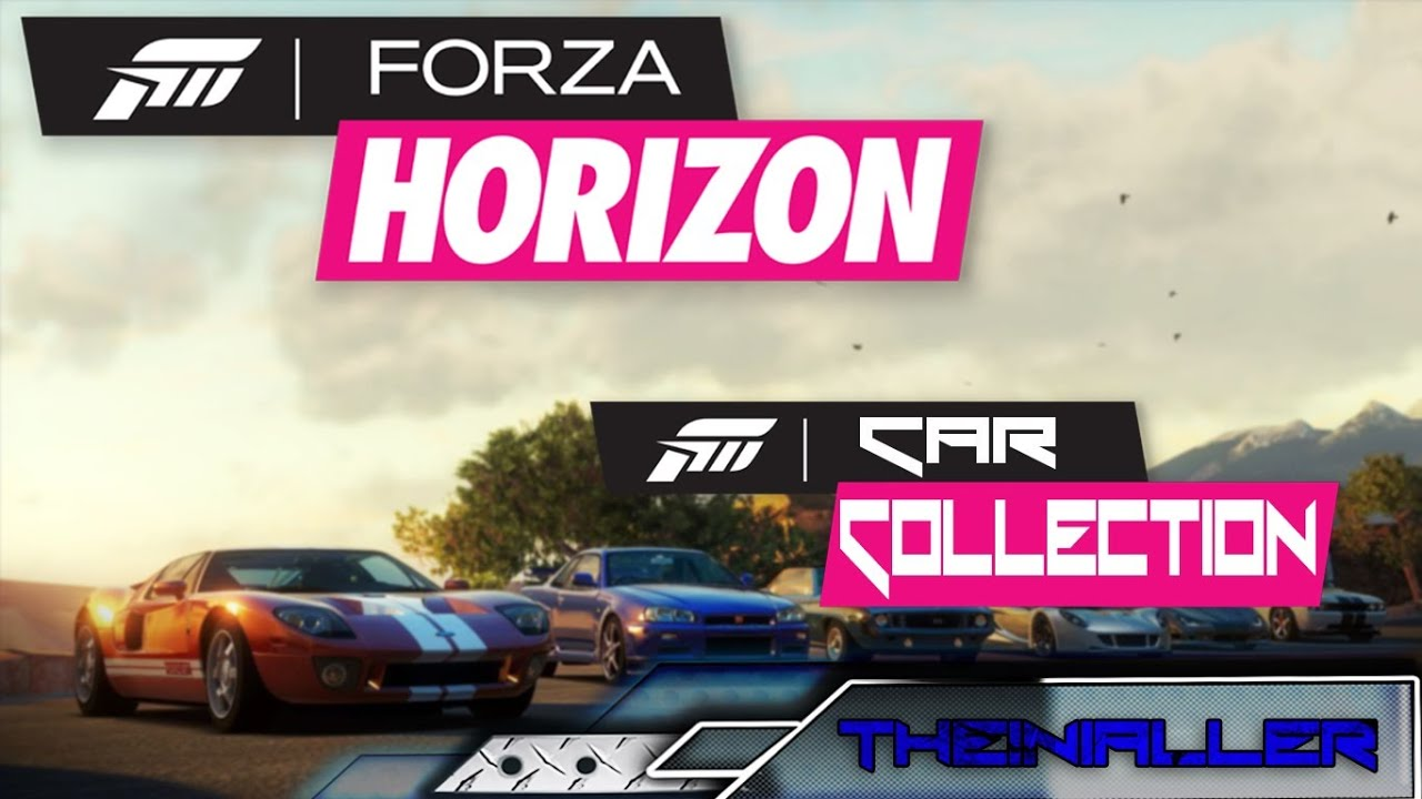 Forza Horizon Famous Tv Movie Car Collection Hd Youtube