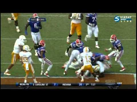 Tyler Bray vs Florida 2011