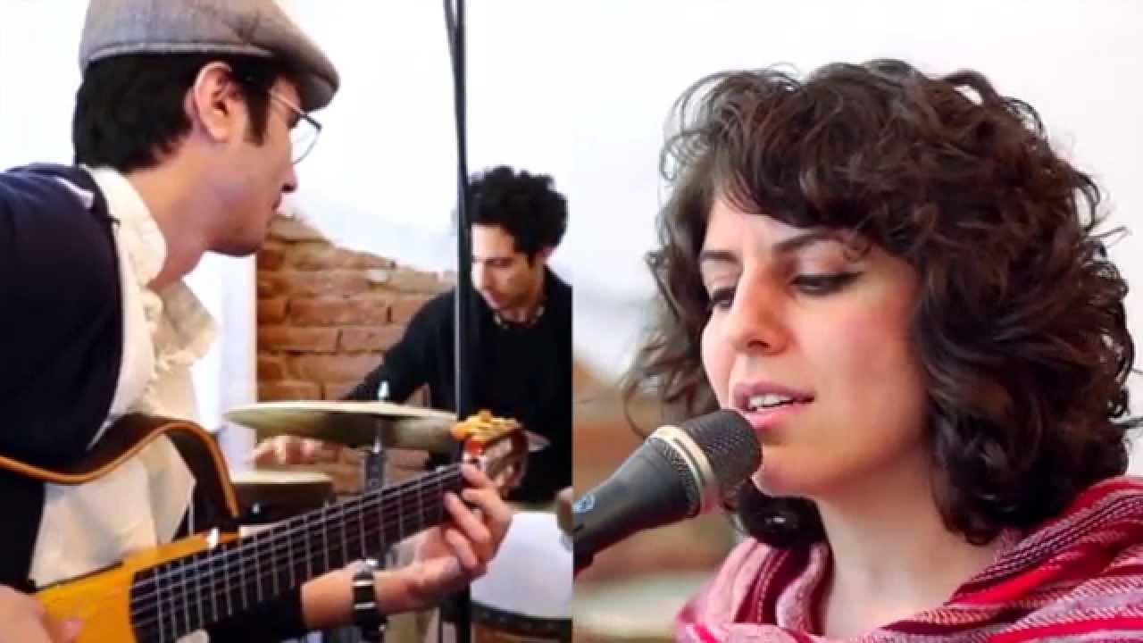 Golnar  Mahan >> SEHRANG - Ach Leyl o Dach Leyl # april2014 sessions - YouTube
