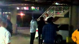 Exclusive: Huge fight breaks outside Staples Center after LA Lakers vs Clippers game