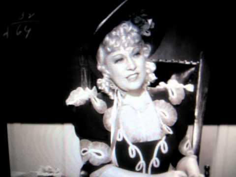 Mae West teaches a room of school boys in