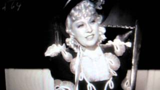 "Mae West teaches a room of school boys in ""My Little Chickadee"" 1940"