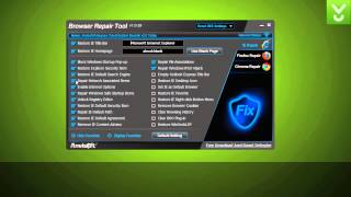 Anvi Browser Repair Tool - Restore your browser and networking settings - Download Video Previews