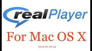 Download Realplayer For Mac Free