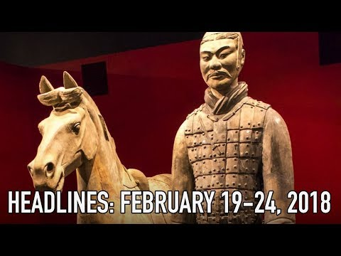 Ancient Terracotta Warrior Vandalized