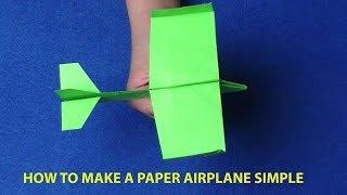 Xếp giấy Origami-Hướng dẫn gấp máy bay du lịch