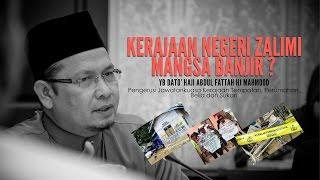 Menjawab Tuduhan Liar Kelantan Zalimi Mangsa Banjir