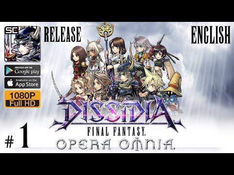 DISSIDIA FINAL FANTASY OPERA OMNIA English Release Walkthrough Part 1