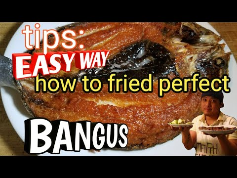 Tips How To Cook Perfect Golden Fried Bangus