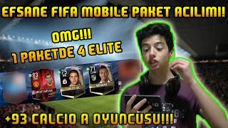 EN EFSANE PAKET!! - 1 PAKETDE 4 ELITE!!! - FIFA MOBILE PAKET ACILIMI (TURKCE)