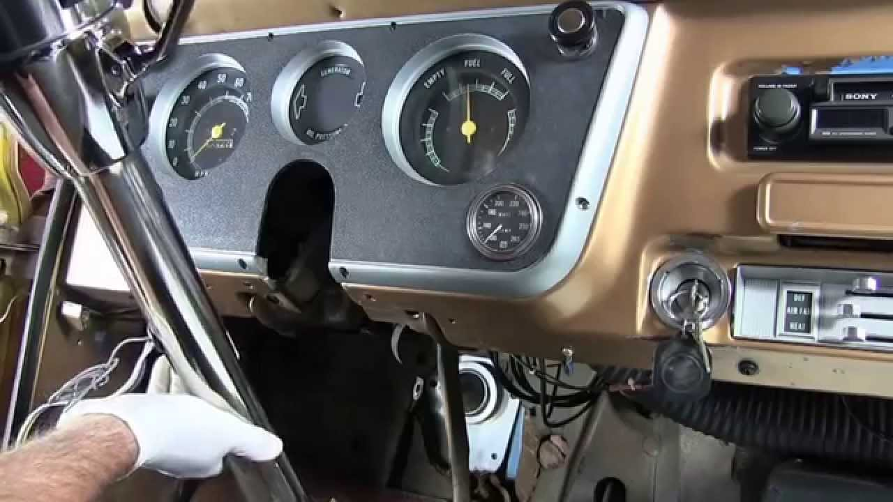 Flaming River 1967-1972 Chevrolet C-10 Power Rack and Pinion Installation  (Chevy C10 Pickup)