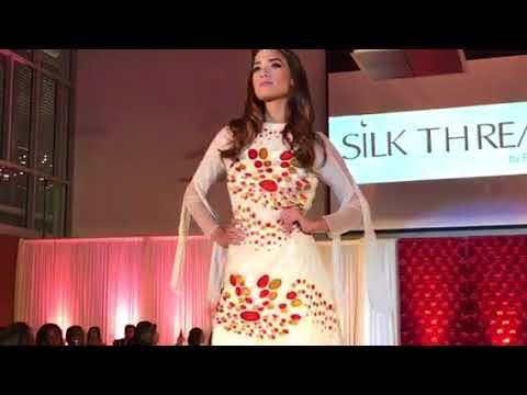 Modern wear Silk Threads: Bollywood to Hollywood