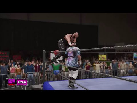 Hack Meyers vs Mikey Whipwreck in the ECW Arena (WWE 2K16 CAW Expo)
