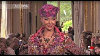 SLAVA ZAITSEV Oriental Fashion Show | July 2018 Paris - Fashion Channel