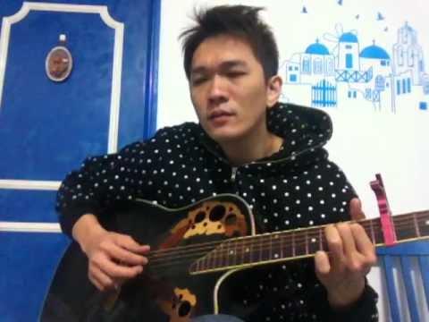 我是不是該安靜的走開 自彈自唱 附吉他譜 cover 郭富城 - YouTube