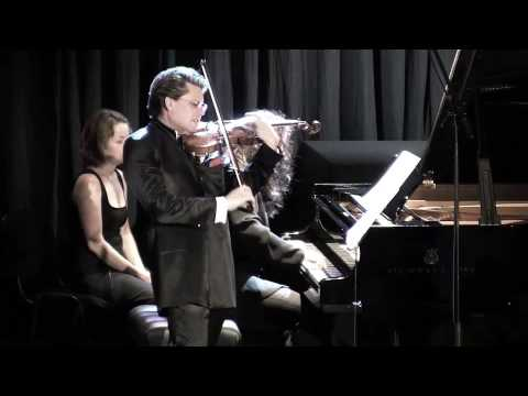 Julian Rachlin plays Lera Auerbach Sonata for Violin and Piano No. 3 - Part 3