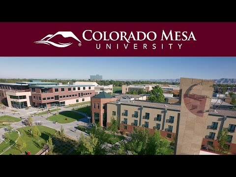 Campus from Above | Colorado Mesa University