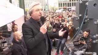 Jürgen Elsässer auf der Montagsdemo (Berlin 21.04.2014) Thumbnail