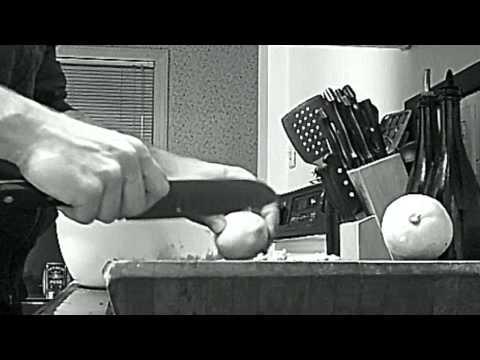 Chef Knife Lemon Zest