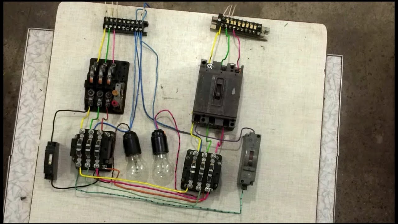 Как собрать щит учета электроэнергии 380в своими руками.