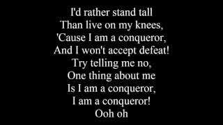 Empire Cast - Conqueror (Lyrics) Ft. Estelle & Jussie Smollett