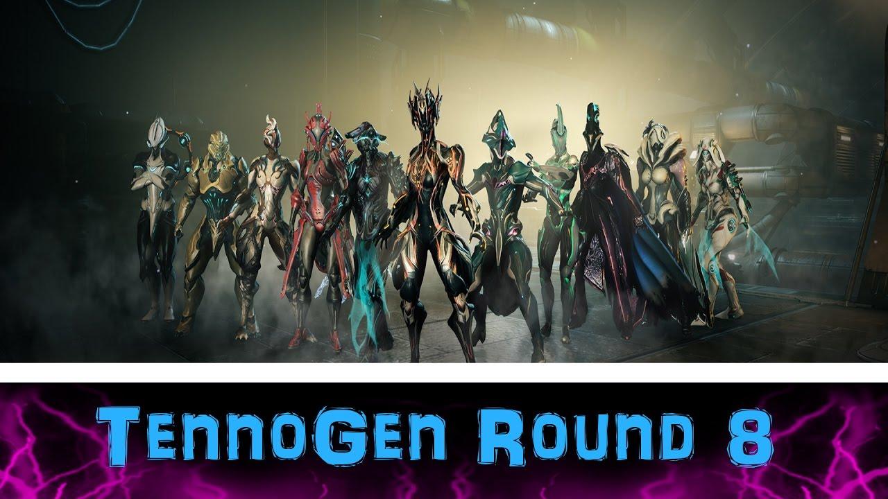 U20.5] Warframe - TennoGen Round 8 - All 17 Skins Customized ...