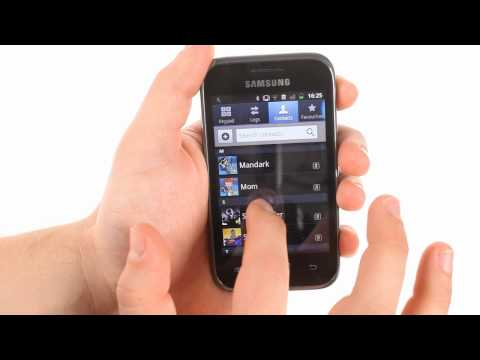 Samsung Galaxy Ace Plus user interface